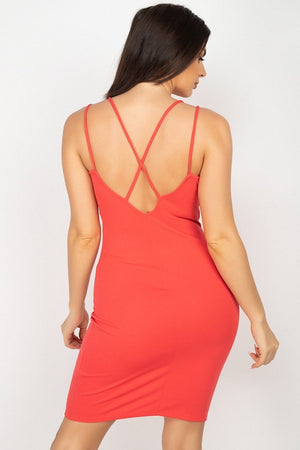 Double Spaghetti Strap Dress
