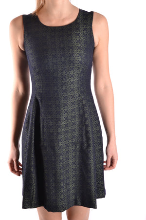 Dress Spago Donna  Main Color: Green Season: Fall / Winter Made In: Italy Size: It Clothing Type: Dress Composition: Wool 23%, Polyester 52%, Viscose 25%