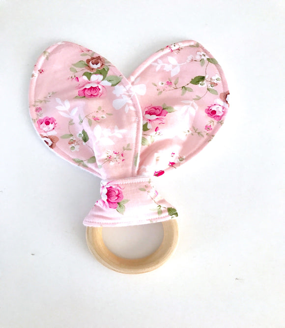 Annabelle pink // Teething ring