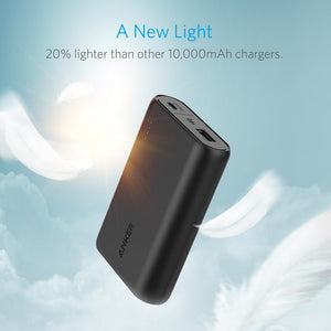 A1263 PowerCore 10000mAh Compact Portable Charger Power Bank with VoltageBoost - Anker Malaysia Official Store