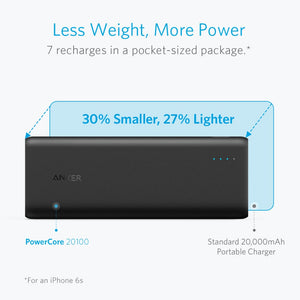 A1271 4.8A Powercore 20100 Ultra High Capacity Power Bank with 4.8A Output - Anker Malaysia Official Store