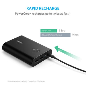 A1315 PowerCore+ 13400mAh Power Bank - Anker Malaysia Official Store