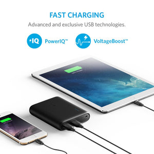 A1214 PowerCore 10400mAh Power Bank With PowerIQ - Anker Malaysia Official Store
