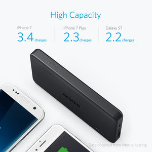 A1261 PowerCore II Slim 10000mAh with Power IQ 2.0 (Qc3.0) - Anker Malaysia Official Store