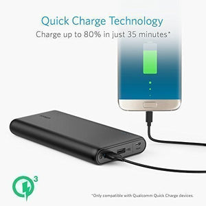 A1274 PowerCore Speed 20000 Portable Charger with Quick Charger 3.0 - Anker Malaysia Official Store