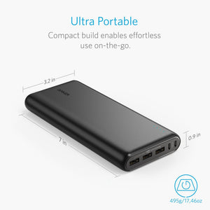 A1277 PowerCore 26800mAh 3 USB Port Power Bank - Anker Malaysia Official Store