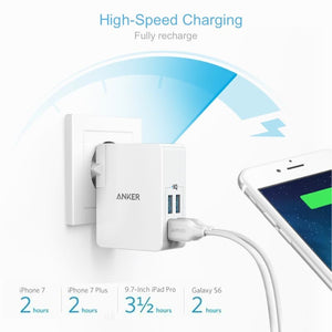 A2042L21 PowerPort 4 Lite Travel Charger