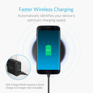 A2512 PowerTouch 10 Fast Wireless Charger - Anker Malaysia Official Store