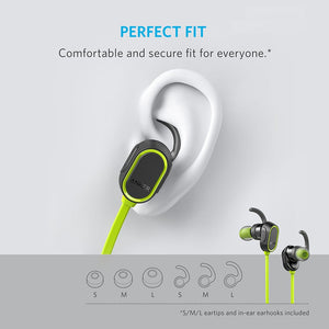 A3233011 Premium bluetooth Comfort SoundBuds In-Ear Sport Earbuds with 8H Playback - Anker Malaysia Official Store