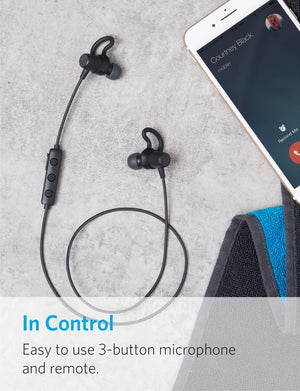 A3236011 Soundbuds Surge Bluetooth Wireless Headphones - Anker Malaysia Official Store