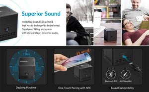 A7910 Ultra Portable Pocket Size Wireless Bluetooth Speaker with (12Hr Battery) - Anker Malaysia Official Store