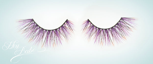 Amethyst faux mink eyelash by Hey Babe