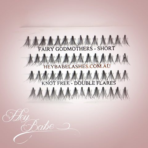 Fairy Godmothers - Short - Individual Lashes