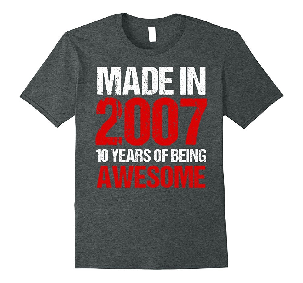 10th Birthday Gift Shirt Hoodie For A 10 Year Old Boy Or