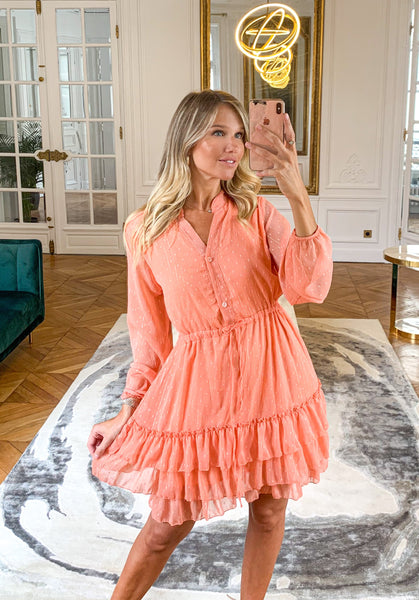 Robe GINGER corail