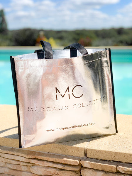 Tote bag SILVER MARGAUX COLLECTION
