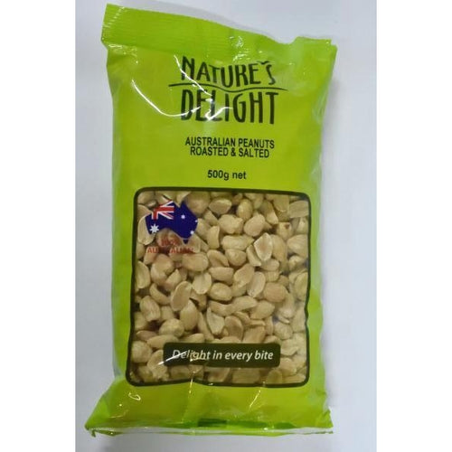 Peanut Roasted & Salted (500gm)