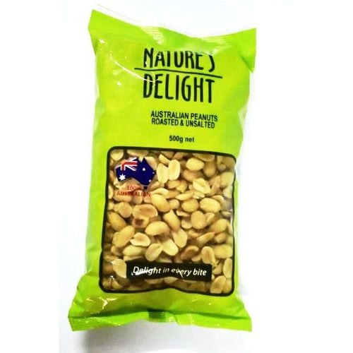 Peanut Roasted & Unsalted (500gm)