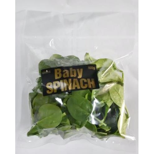 Baby Spinach (100g Pack)