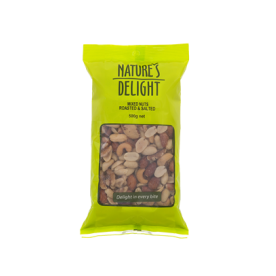 Mixed Nut Roasted & Salted (500gm)