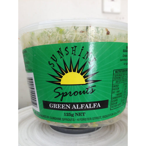 Green Alfalfa (125gm Punnet)