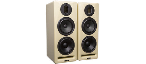 Avantone Mix Tower 3-Way Powered Studio Monitor Cream
