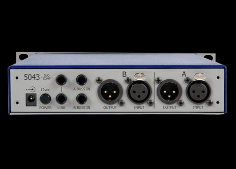 5043-H 2-Channel Compressor / Limiter (horizontal)