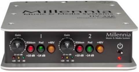 HV-32P Portable Two Channel Microphone Preamplifier