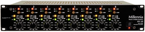 HV-3D-8 Eight Channel Microphone Preamplifier