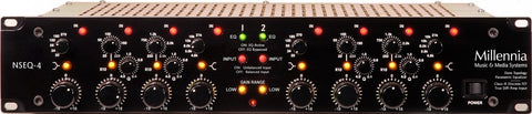 NSEQ-4 Discrete Solid State Two Channel Parametric EQ
