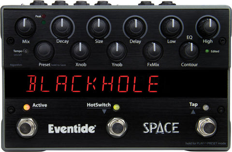 Space Reverb Multi-effects Pedal