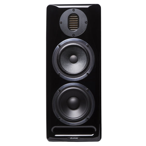Avantone Mix Tower 3-Way Powered Studio Monitor - MONO Black
