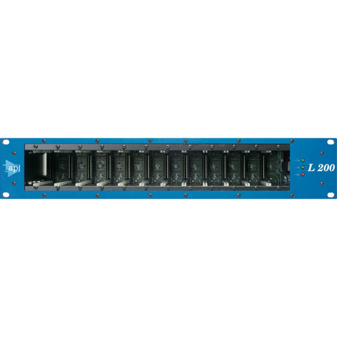 L200R 12 Slot 200 Series Module Rack Front