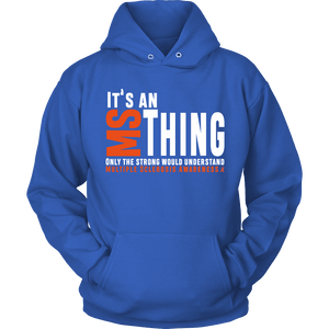 It's an MS thing... MS Awareness hoody