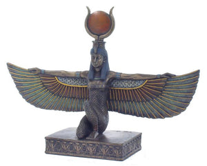Winged Isis Statue