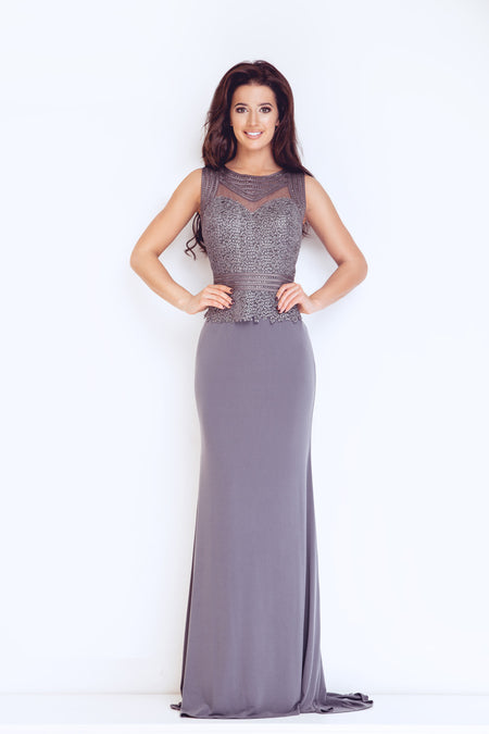 Forever Unique Esta · Dynasty London Dynasty 1013123 Capri Long Dress ed7a4b33b