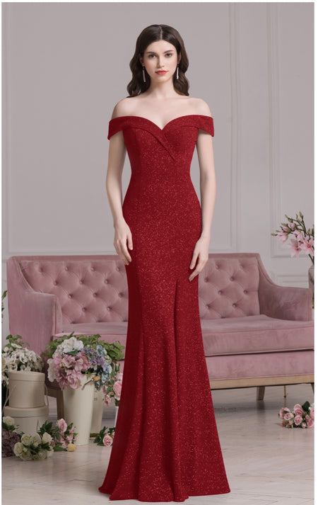 Mascara MC186067 self shine red dress