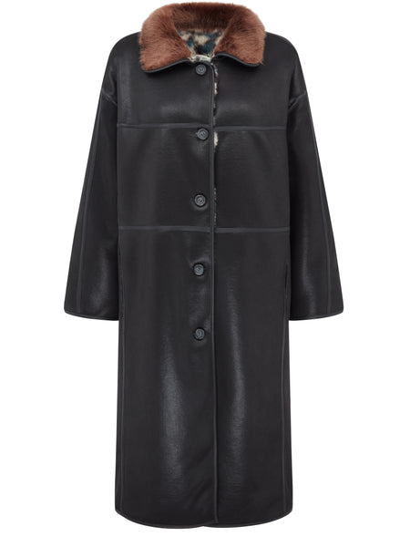 Urban code London Faux Suede reversible Coat