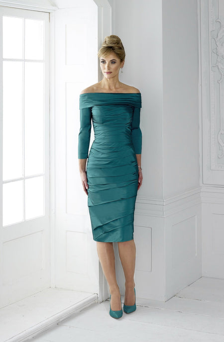 Kevan Jon Eliza Soraya Satin Backlss Ball Dress