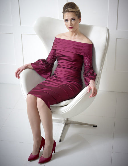 Ispirato Dress IW 812 Cbra and iris