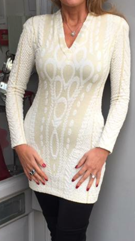 Frank Lyman Lace Dress