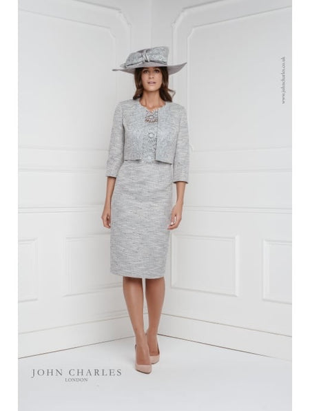 John Chatles 25566 dress and jacket