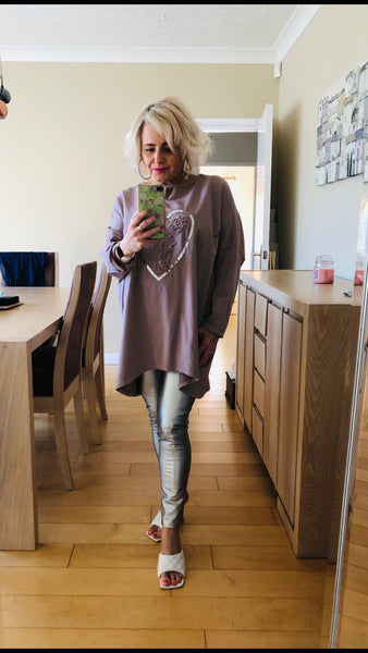 Lace Heart Tunic
