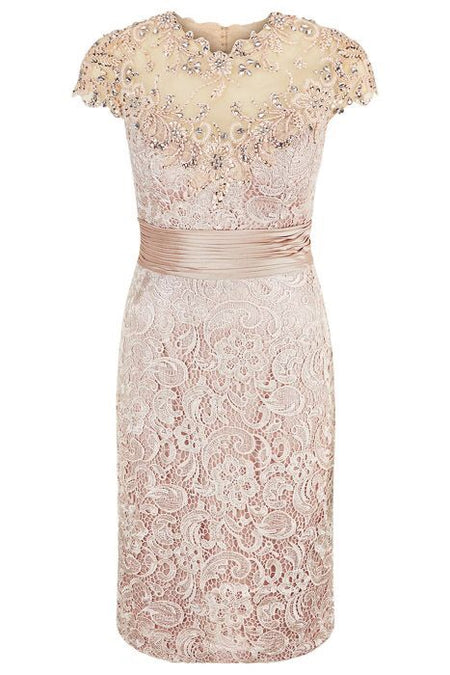 Roanld Joyce 991257 Lace Top Dress