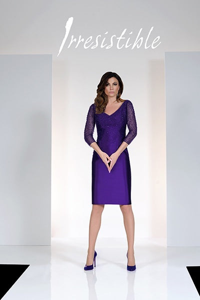 Kevan Jon Matia Asymmetric Dress