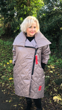 Over sized Quilted Coat