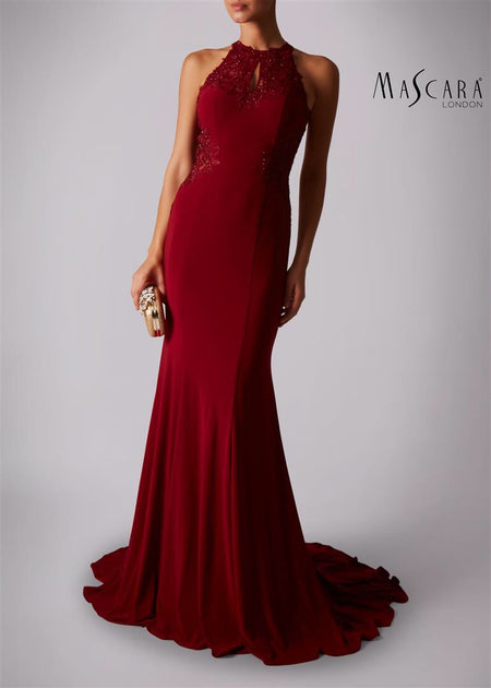 Nadine Merabi Arabella Red and Dress