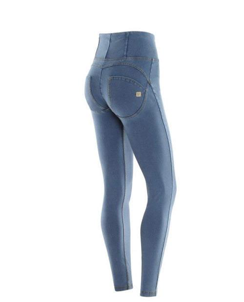 WR.UP® SKINNY HIGH RISE IN STRETCH LIGHT DENIM
