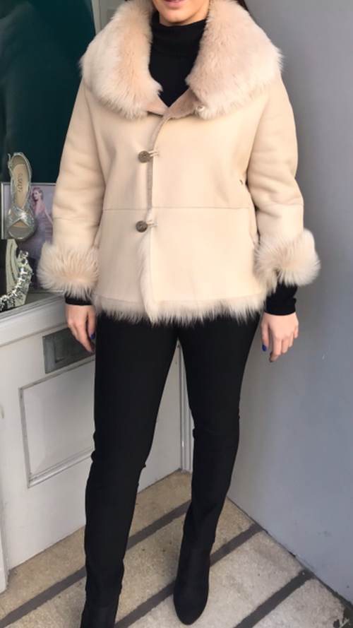 Gushlow and Cole Revisable Shearling Jacket