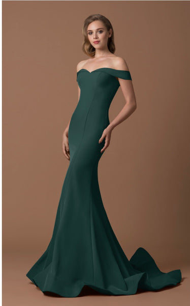 Gino Cerruti 1539G Dress Hunter Green
